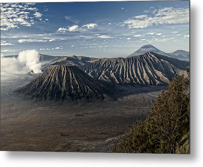 Bromo Mountain Metal Print by Miguel Winterpacht