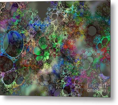 Bubbles Metal Print by Klara Acel
