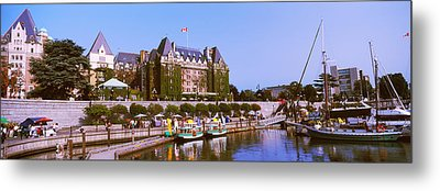 Buildings At The Waterfront, Empress Metal Print by Panoramic Images