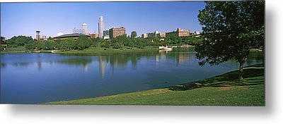 Buildings At The Waterfront, Omaha Metal Print by Panoramic Images