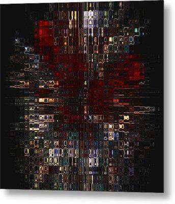 Burst  Metal Print by Jack Zulli