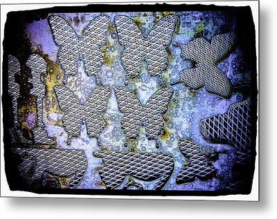 Metal Print featuring the photograph Butterflies by Craig Perry-Ollila