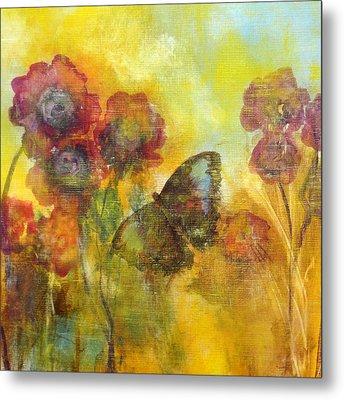 Butterfly Metal Print by Katie Black