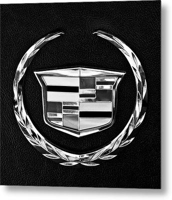 Cadillac Emblem Metal Print