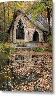 Callaway Gardens Chapel-pine Mountain Georgia Metal Print by Mountains to the Sea Photo