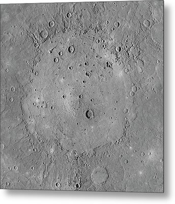 Caloris Basin Metal Print by Nasa/johns Hopkins University Applied Physics Laboratory/carnegie Institution Of Washington