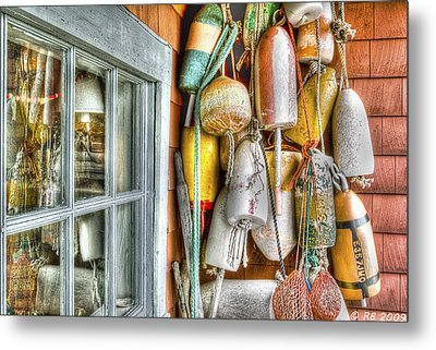 Camp Buoys Metal Print