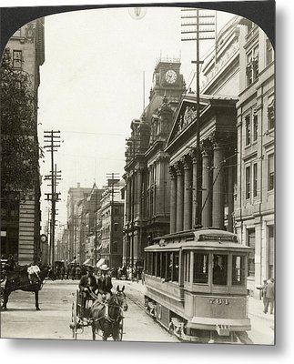 Canada Montreal, 1908 Metal Print by Granger