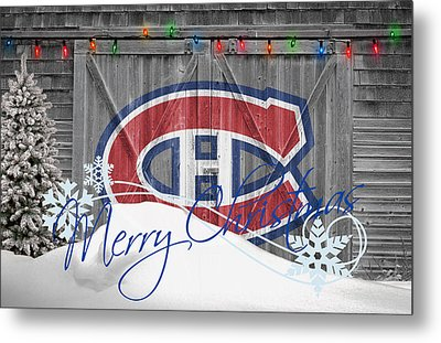 Canadiens Metal Print by Joe Hamilton