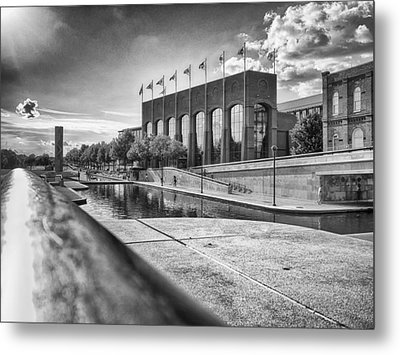 Metal Print featuring the photograph Canal Walk by Howard Salmon