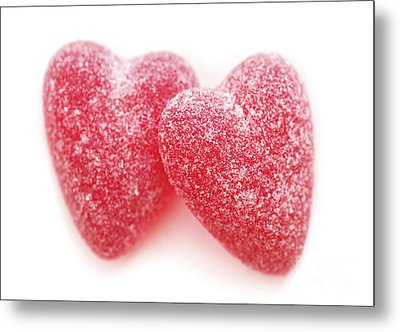 Candy Hearts Metal Print by Elena Elisseeva