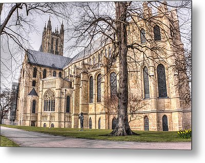 Canterbury Cathedral Metal Print by Ian Hufton