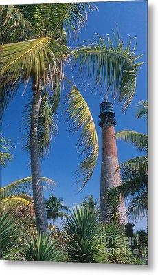 Cape Florida Lighthouse, Fl Metal Print