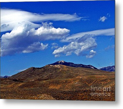 Caressed By Clouds Metal Print by Christian Mattison