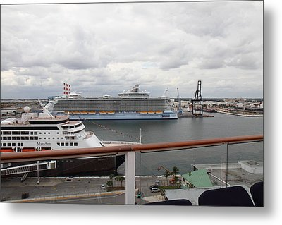 Caribbean Cruise - On Board Ship - 121214 Metal Print by DC Photographer