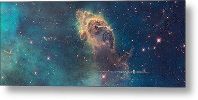 Carina Nebula Metal Print by Nasa