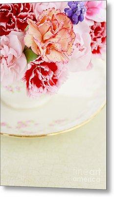 Carnations Metal Print
