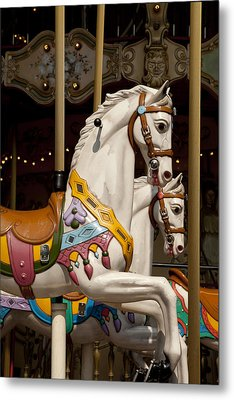 Carousel 1 Metal Print by Art Ferrier