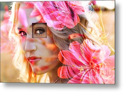 Carrie Underwood Metal Print by Marvin Blaine