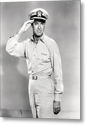 Cary Grant In Operation Petticoat  Metal Print by Silver Screen