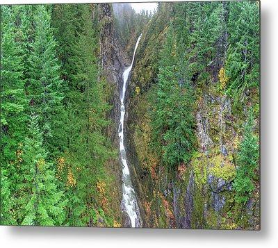 Cascades Waterfall Metal Print by Tom Norring