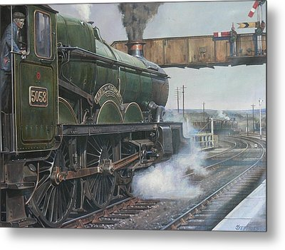 Castle Class 4.6.0. Metal Print by Mike  Jeffries