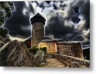 Castle Of The Holy Order Metal Print