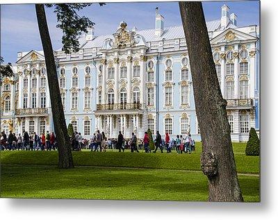 Catherine Palace - St Petersburg Russia Metal Print by Jon Berghoff