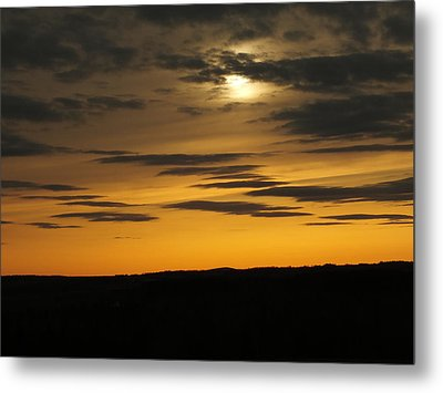 Metal Print featuring the photograph Changing Sky by Gene Cyr