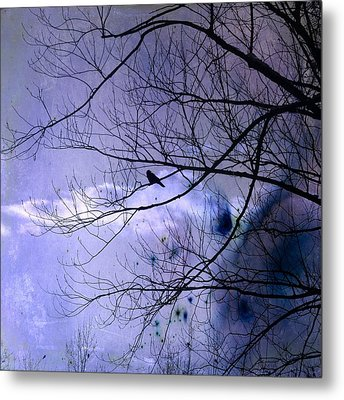 Changing Sky Metal Print by Gothicrow Images