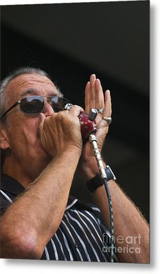 Charlie Musselwhite Metal Print by Craig Lovell