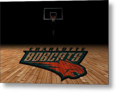 Charlotte Bobcats Metal Print by Joe Hamilton