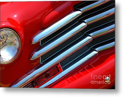Metal Print featuring the photograph Cherry Chrome by Christiane Hellner-OBrien
