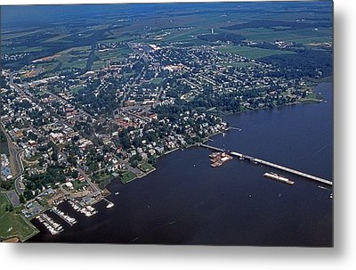 Chestertown Maryland Metal Print by Skip Willits
