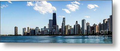 Chicago Panorama Skyline Metal Print