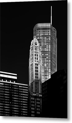 Chicago - Trump International Hotel And Tower Metal Print by Christine Till