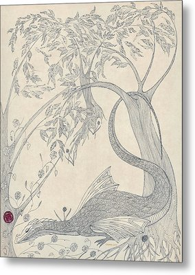 China The Dragon Metal Print