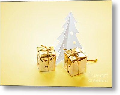 Christmas Decorations Metal Print by Michal Bednarek