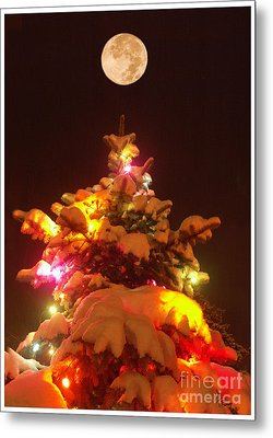 Christmas Tree Seneca Falls Metal Print