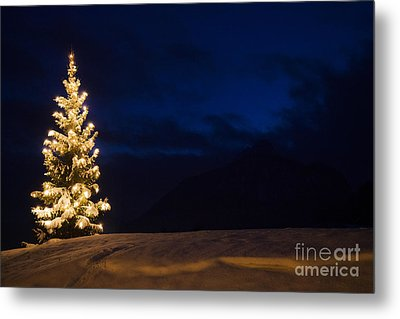 Christmastree Metal Print