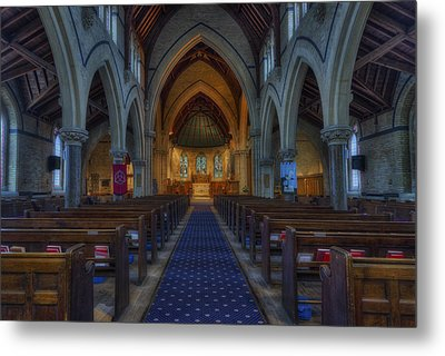 Church Of Our Saviour Metal Print by Ian Mitchell