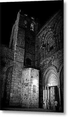 Church Of The Holy Sepulchre Metal Print by Amr Miqdadi