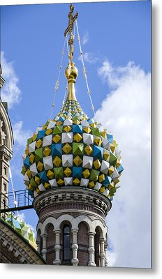 Church Of The Spilled Blood - St. Petersburg Russia Metal Print by Jon Berghoff