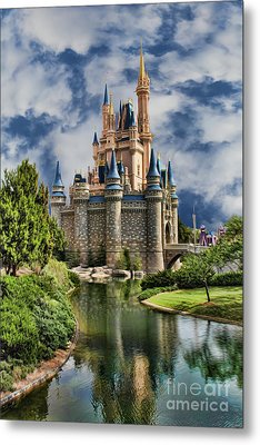 Cinderella Castle II Metal Print by Lee Dos Santos