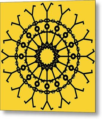 Circle 2 Icon Metal Print by Thisisnotme