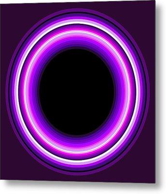 Circle Motif 144 Metal Print by John F Metcalf