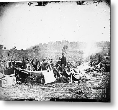 Civil War: Wounded, 1862 Metal Print by Granger