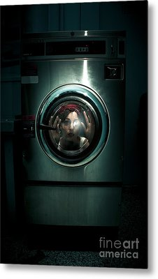 Cleaning Problems Metal Print by Jorgo Photography - Wall Art Gallery
