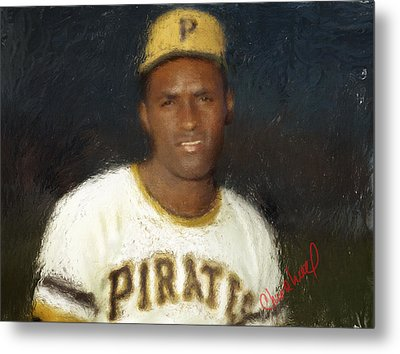 Clemente Metal Print by Thomas Churchwell