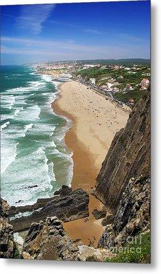 Coastal Cliffs Metal Print by Carlos Caetano
